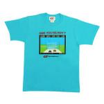 デザインTシャツ(ブルー)