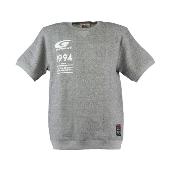 SUPER GT スウェット Tシャツ(グレー)