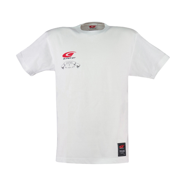 SUPER GT JAPAN Tシャツ(ホワイト)