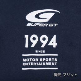 SUPER GT スウェット Tシャツ(ネイビー)