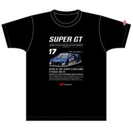 2017 GT500 マシンTシャツ #17