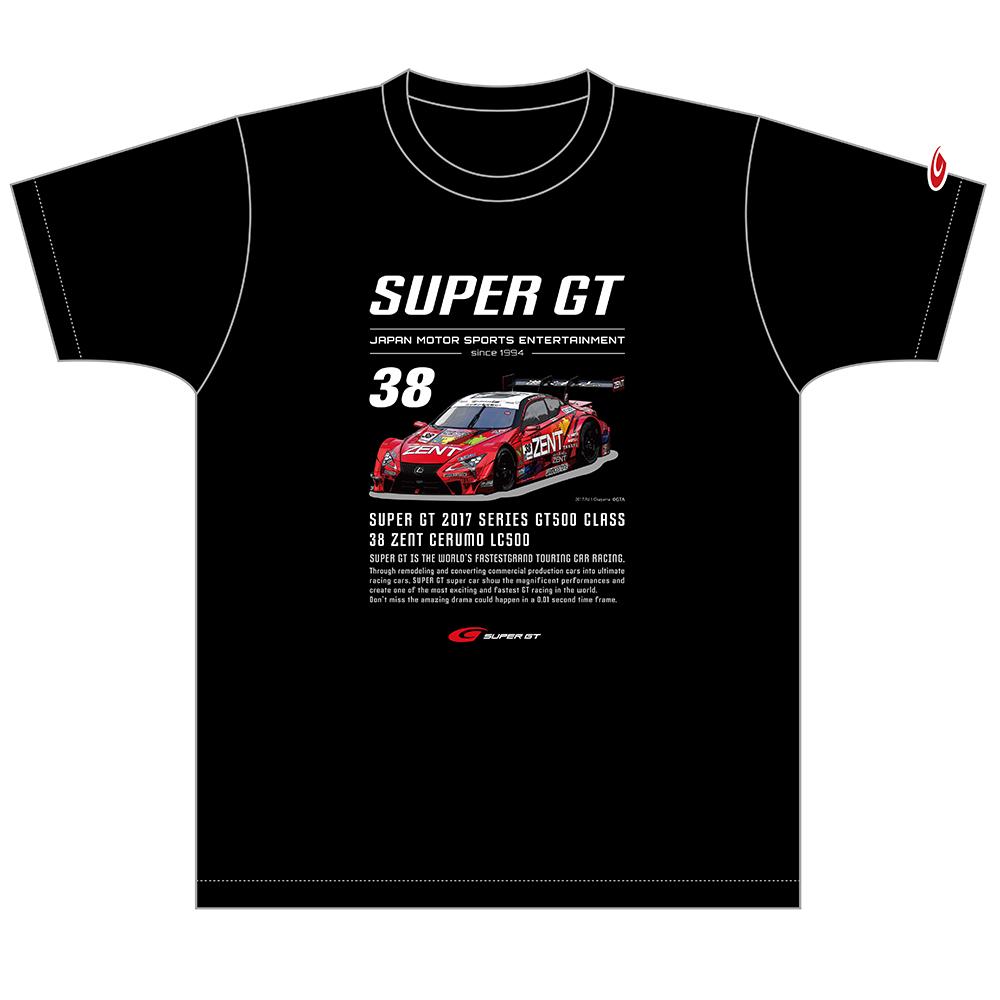 2017 GT500 マシンTシャツ #38