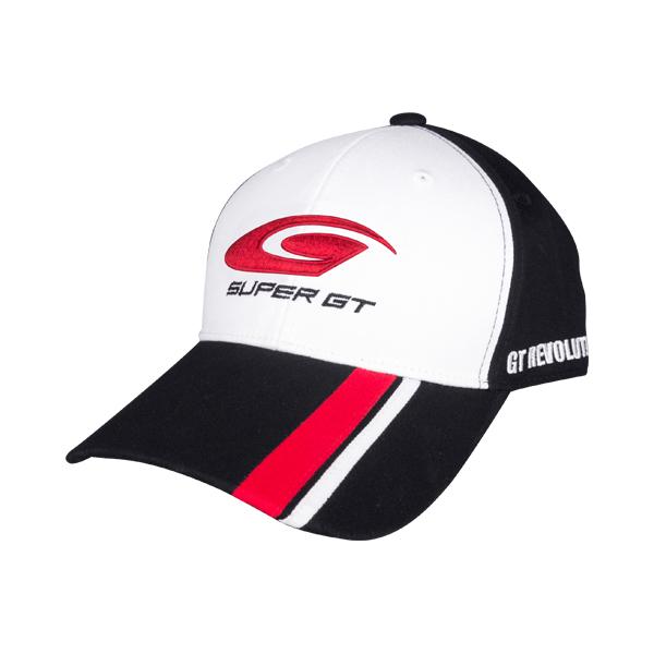 2018 SUPER GT オフィシャルコットンキャップ(ホワイト/ブラック)