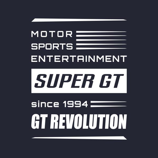 SUPER GT スウェットTシャツ(ネイビー)