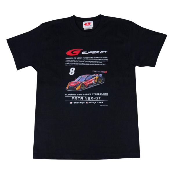 2018 GT 500 Tシャツ [HONDA #8]