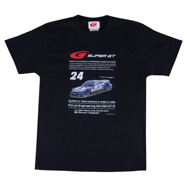 2018 GT 500 Tシャツ [NISSAN #24]