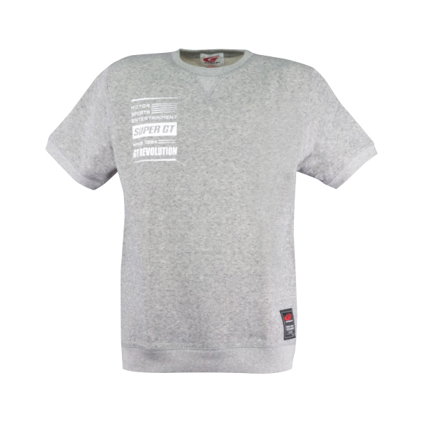 SUPER GT スウェットTシャツ(グレー/Lサイズ)