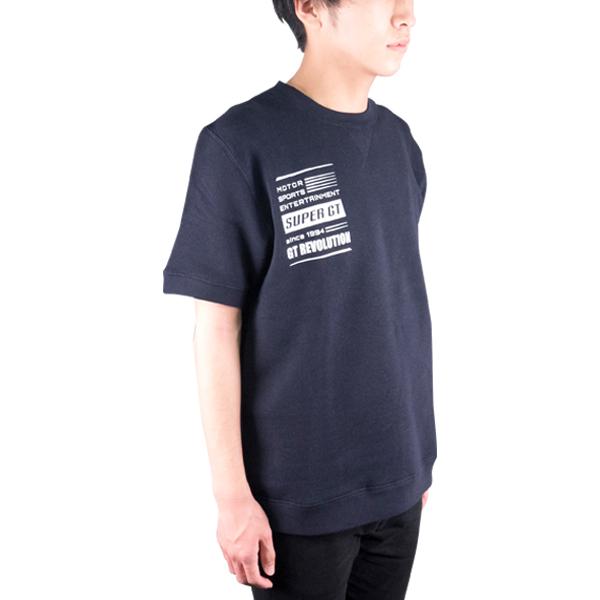 SUPER GT スウェットTシャツ(ネイビー/Lサイズ)