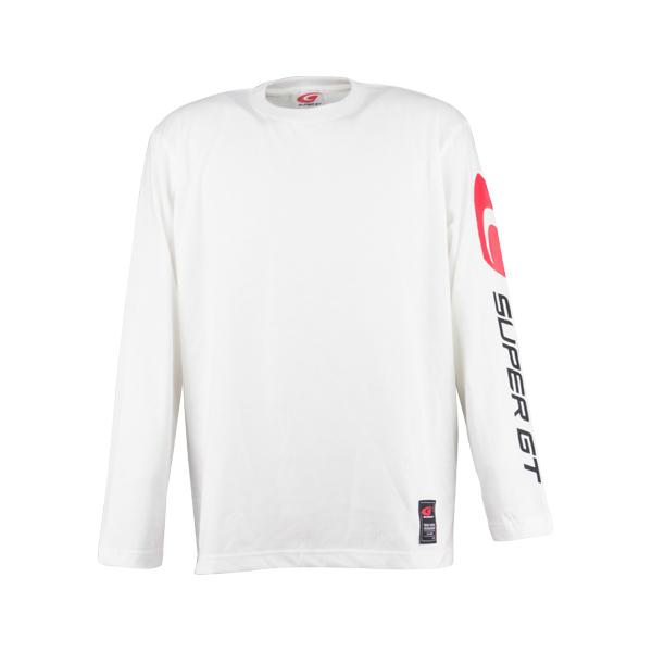 ロングスリーブTシャツ(ホワイト/Lサイズ)