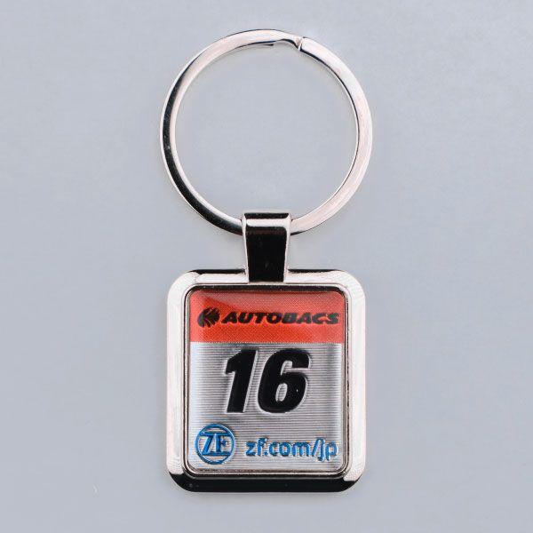SUPER GT カーナンバーキーホルダー(#16)
