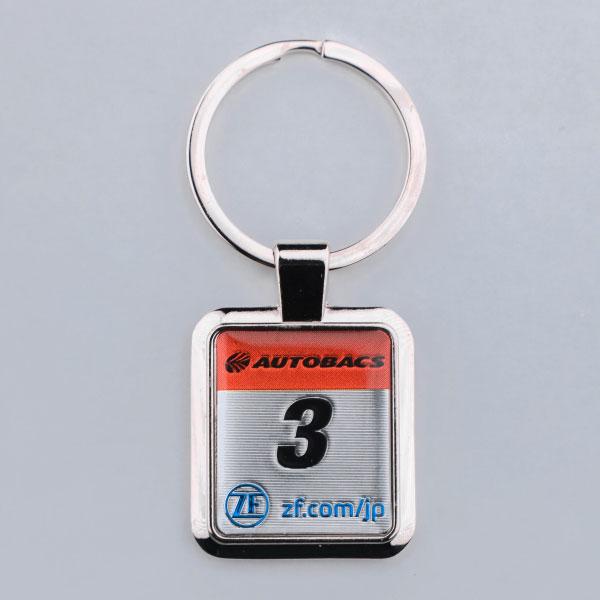 SUPER GT カーナンバーキーホルダー(#3)