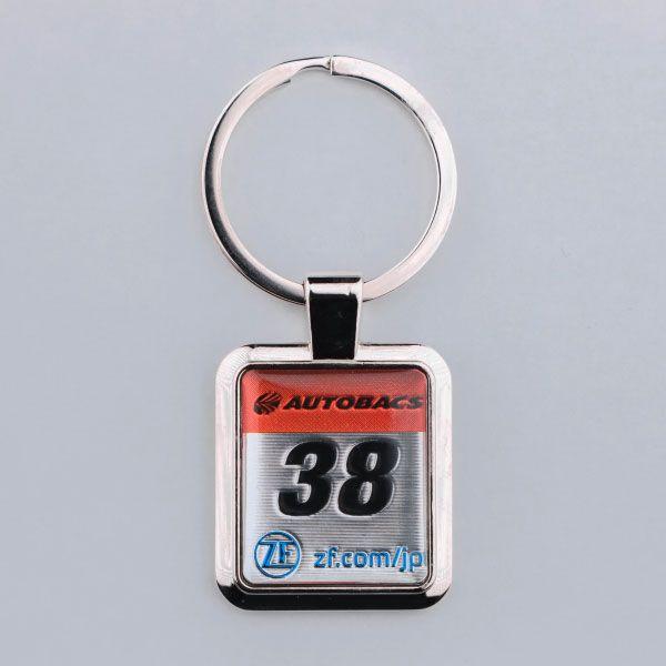 SUPER GT カーナンバーキーホルダー(#38)