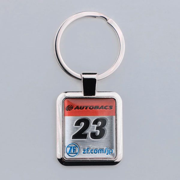 SUPER GT カーナンバーキーホルダー(#23)