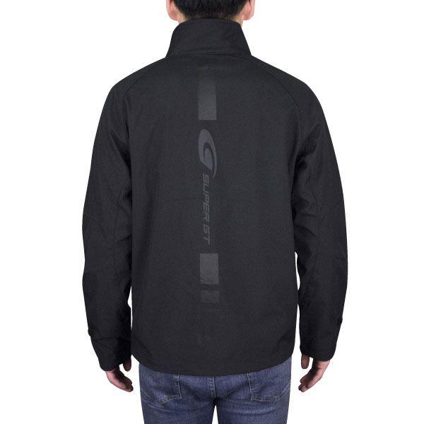 SUPER GTソフトシェルジャケット(ブラック)Mサイズ
