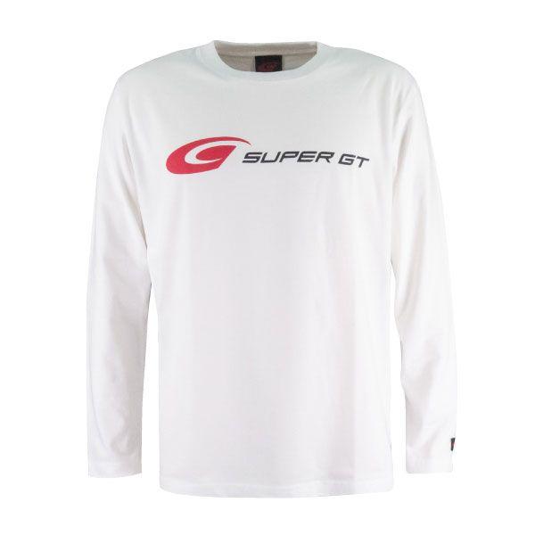 SUPER GT ロングスリーブTシャツ(ホワイト/Lサイズ)