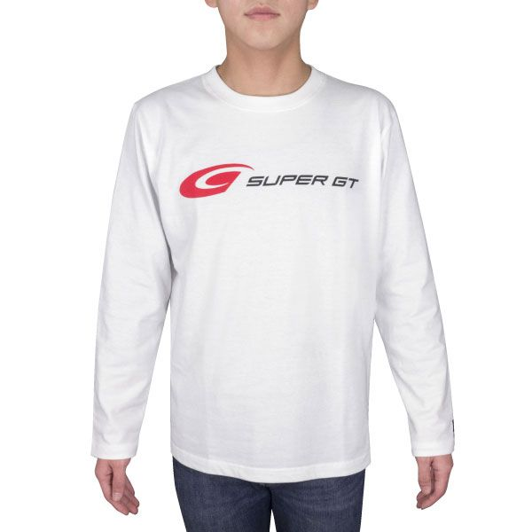 SUPER GT ロングスリーブTシャツ(ホワイト/XLサイズ)