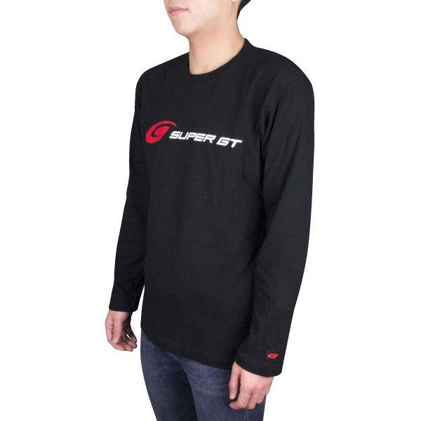SUPER GT ロングスリーブTシャツ(ブラック/Lサイズ)