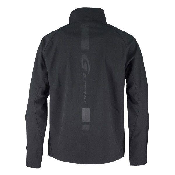 SUPER GTソフトシェルジャケット(ブラック)XLサイズ
