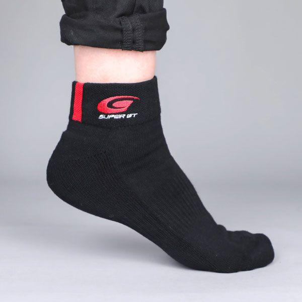 SUPER GTスポーツソックス(ブラック/Mサイズ)