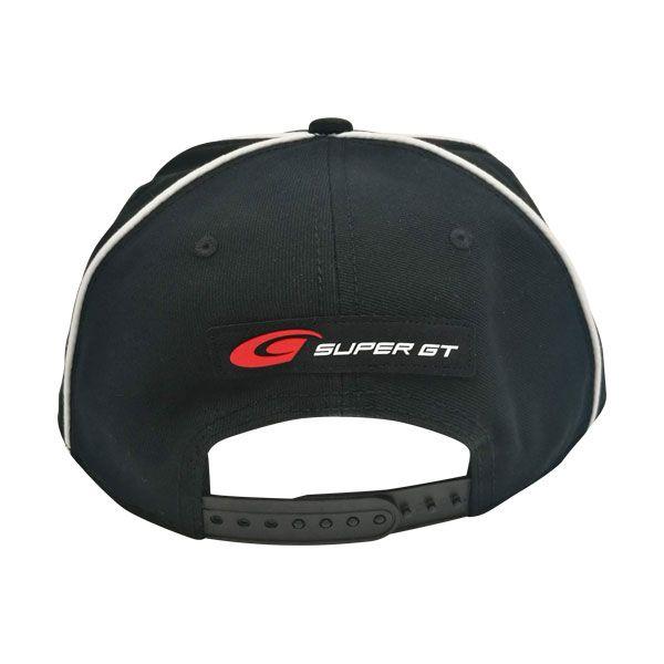 SUPER GTパイピングフラットキャップ