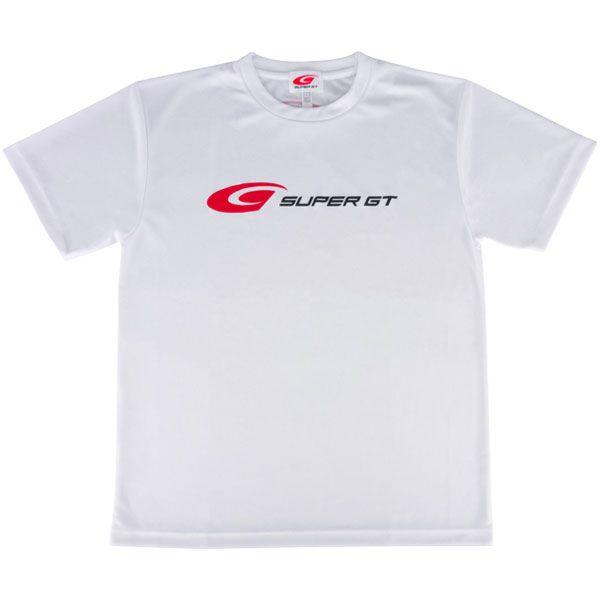 SUPER GT ドライTシャツ(ホワイト/Mサイズ)