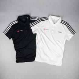 adidas 3ストライプスポロシャツ
