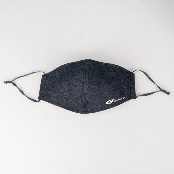 【9/18以降順次発送】SUPER GTデニムマスク(ふつうサイズ)