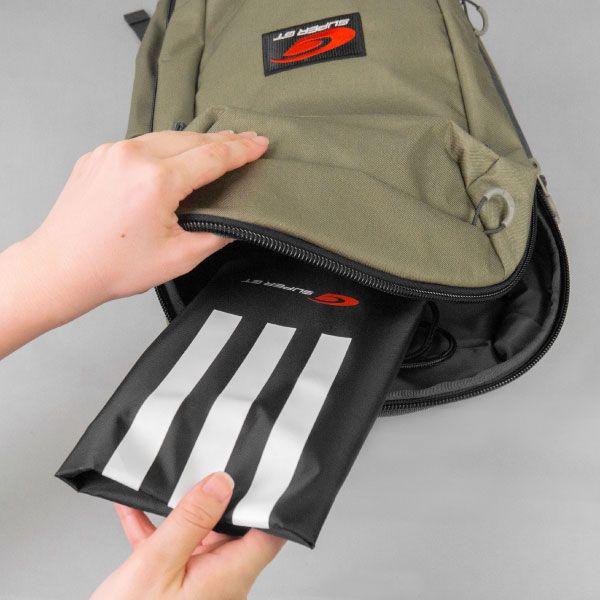 adidas 3ストライプスジムサック