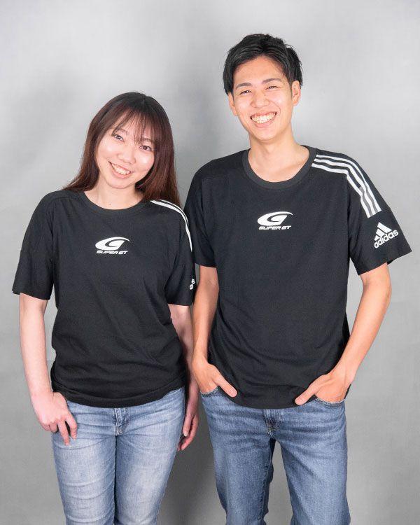 adidas3ストライプスTシャツ