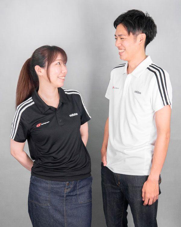 adidas 3ストライプスポロシャツ(ホワイト/Sサイズ)