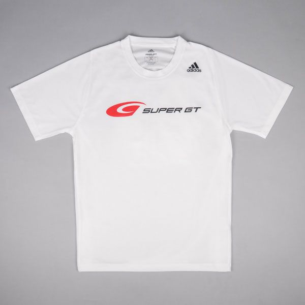 adidas バック3ストライプスTシャツ(ホワイト/XOサイズ)
