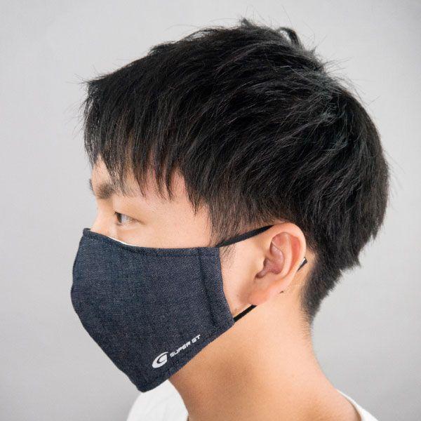 【8/3以降順次発送】SUPER GTデニムマスク(ふつうサイズ)