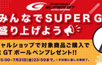 2020開幕みんなでSUPER GTを盛り上げよう