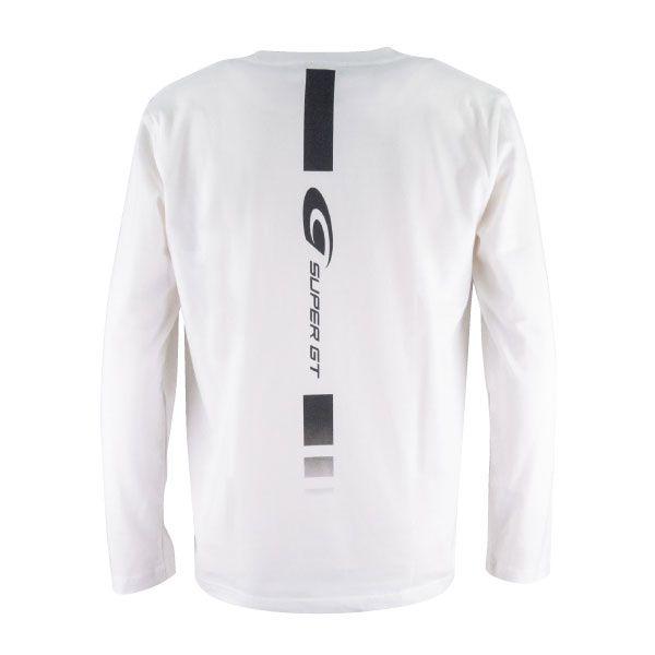 SUPER GT ロングスリーブTシャツ(ホワイト/XXLサイズ)