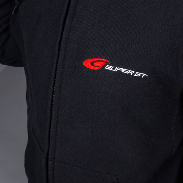 SUPER GT ヘビーパーカー(ブラック/XLサイズ)