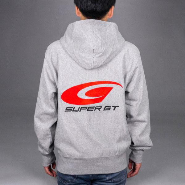 【数量限定】SUPER GT ヘビーパーカー(グレー/Lサイズ)