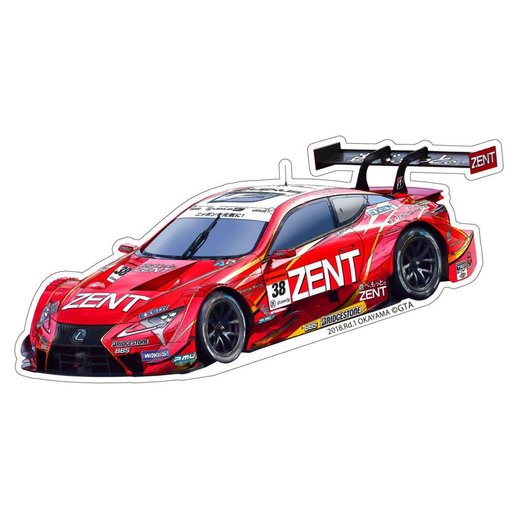 2018 SUPER GT  GT 500 ステッカーセット(#38) ZENT CERUMO LC500