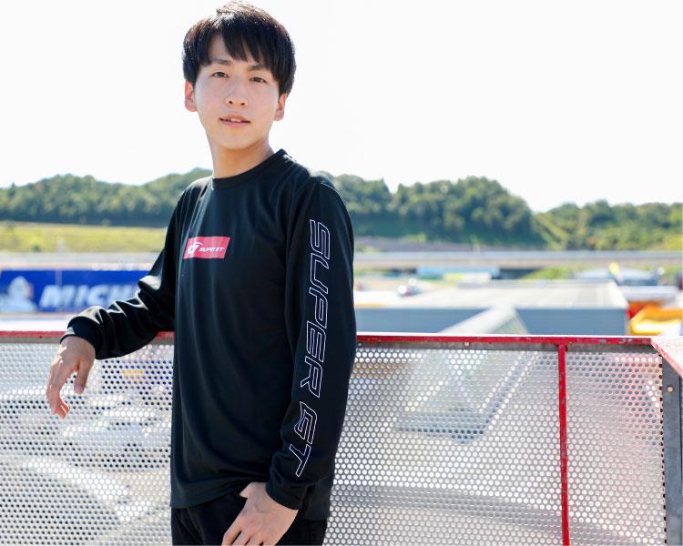 SUPER GT ドライロングスリーブTシャツ(ブラック/Lサイズ)