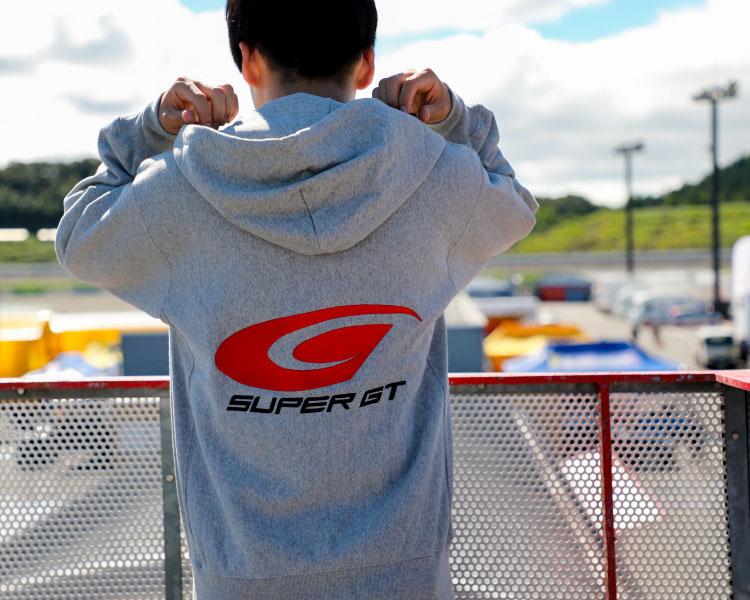 SUPER GT ヘビーパーカー(グレー/Lサイズ)