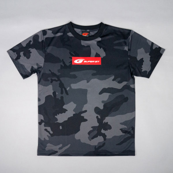 SUPER GT ドライカモフラTシャツ2(ブラック/Lサイズ)