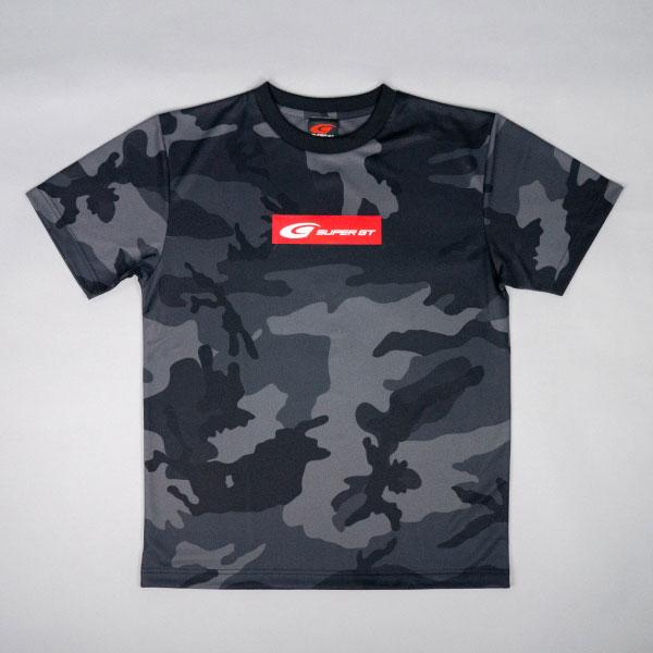 SUPER GT ドライカモフラTシャツ2(ブラック/XLサイズ)