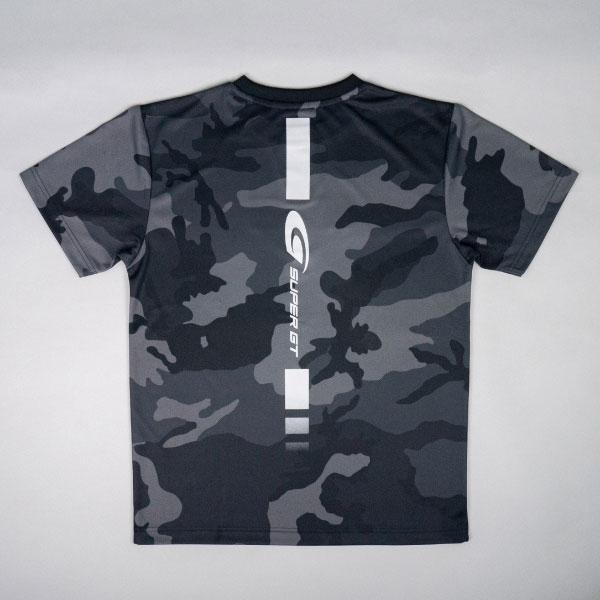 SUPER GT ドライカモフラTシャツ2(ブラック/Mサイズ)