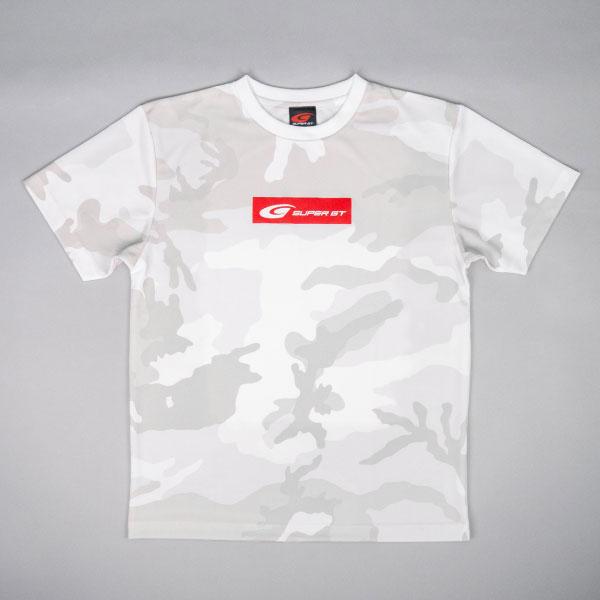 SUPER GT ドライカモフラTシャツ2(ホワイト/Lサイズ)