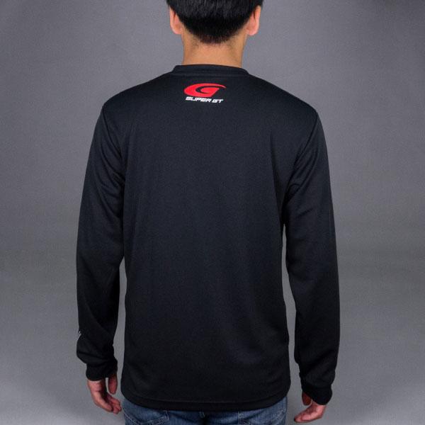 SUPER GT ドライロングスリーブTシャツ(ブラック/XLサイズ)