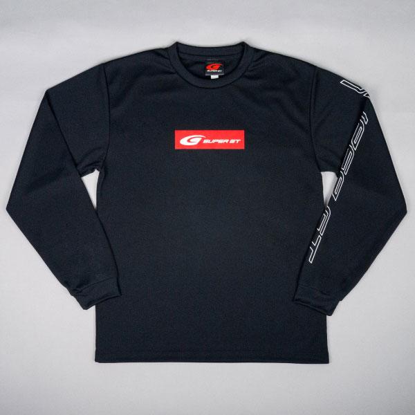 SUPER GT ドライロングスリーブTシャツ(ブラック/Mサイズ)