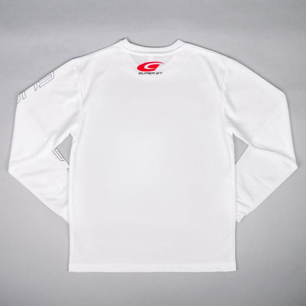 SUPER GT ドライロングスリーブTシャツ(ホワイト/XLサイズ)