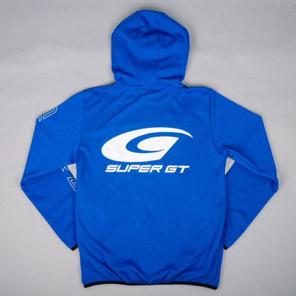 SUPER GT ドライスウェットパーカー2(ブルー/Mサイズ)