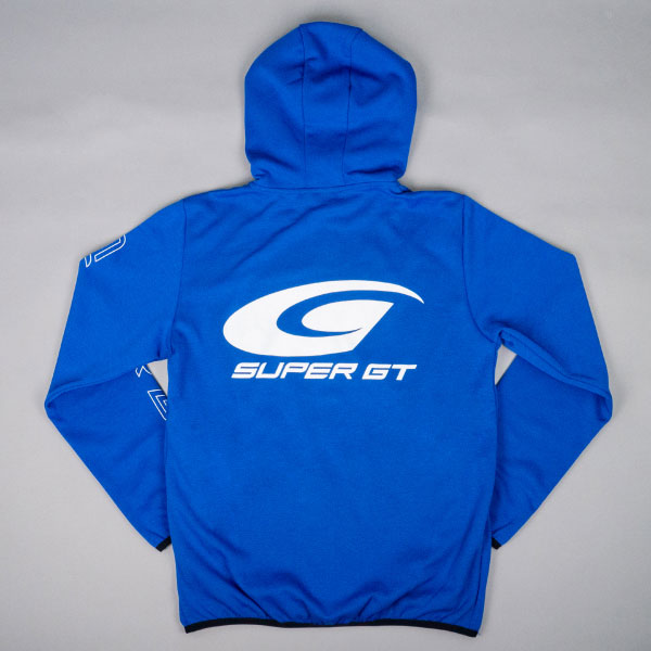 SUPER GT ドライスウェットパーカー2(ブルー/XLサイズ)