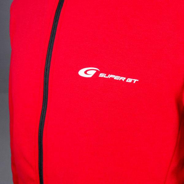 SUPER GT ドライスウェットパーカー2(レッド/Mサイズ)