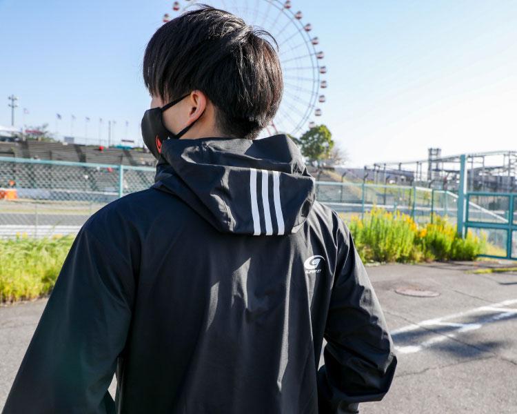 adidas レインドライジャケット(Oサイズ)